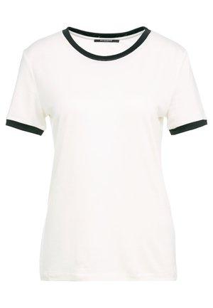 KATKA ELSA TEE - Print T-shirt - snow white