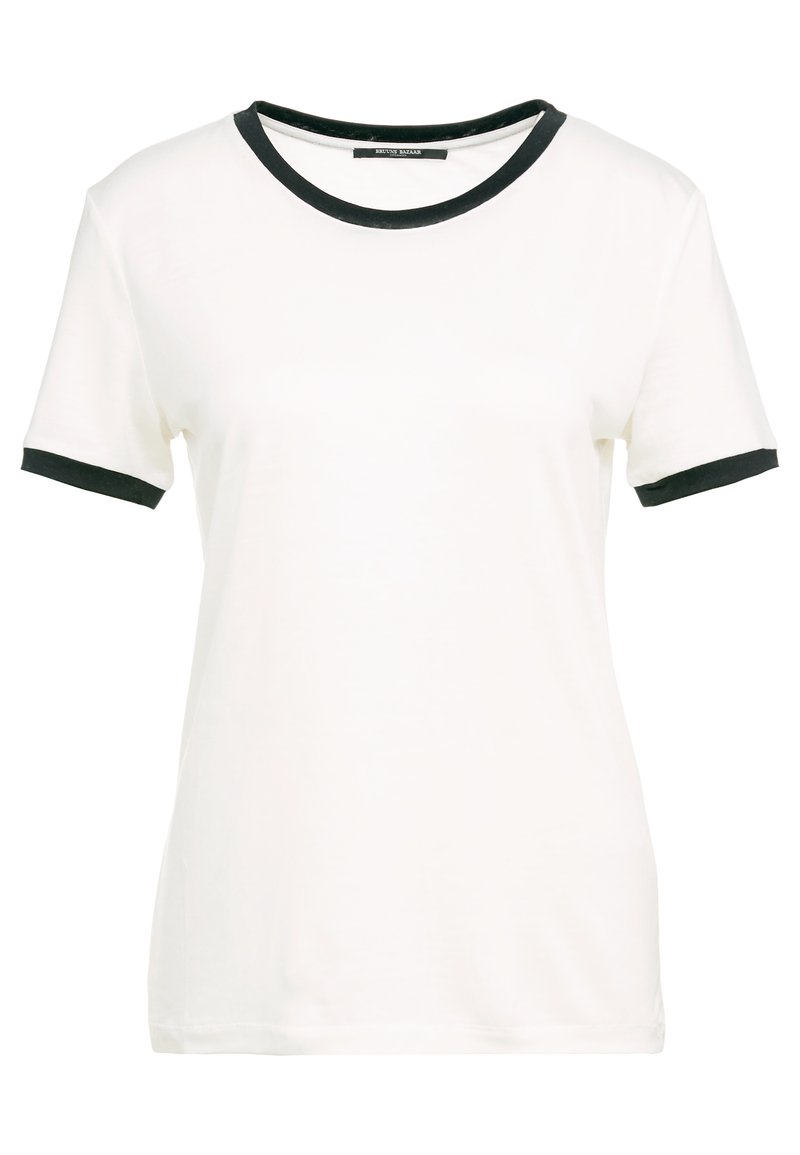 Bruuns Bazaar - KATKA ELSA TEE - Camiseta estampada - snow white