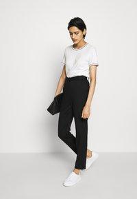 Bruuns Bazaar - KALLY ELSA TEE - Basic T-shirt - snow white - 1
