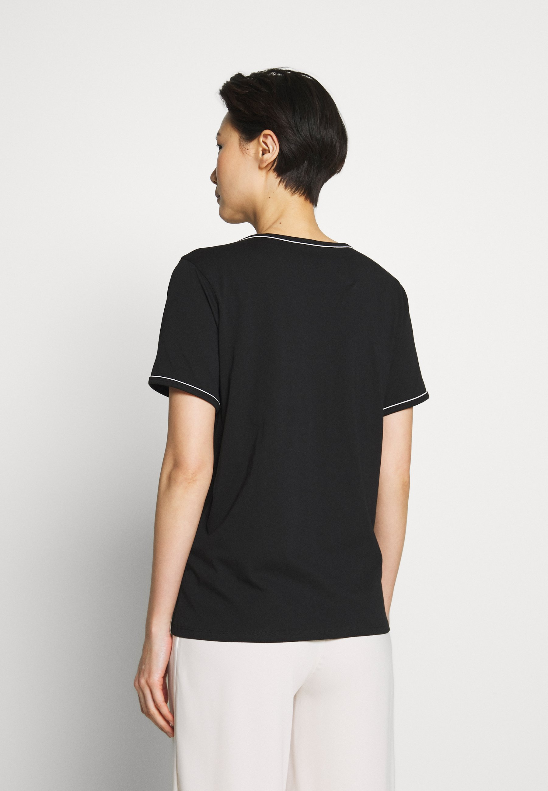 Bruuns Bazaar KALLY ELSA TEE - T-shirt basic - black