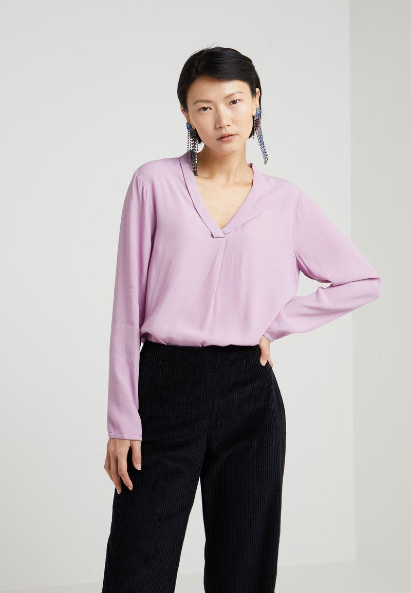 Bruuns Bazaar - LIVA  - Bluse - lavender