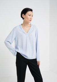 Bruuns Bazaar - LIVA  - Bluzka - blue - 0