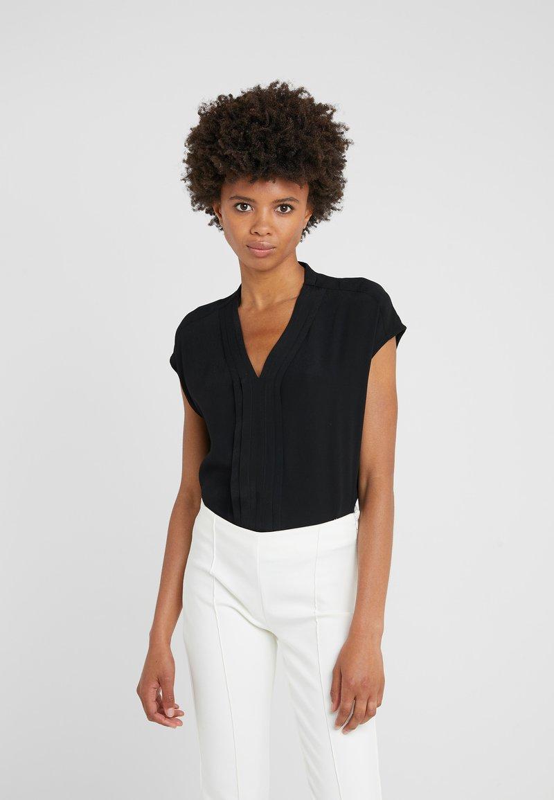 Bruuns Bazaar - LILLI DAGMAR - Blus - black