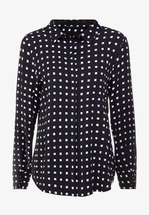 BONNE FILIPPA - Button-down blouse - black