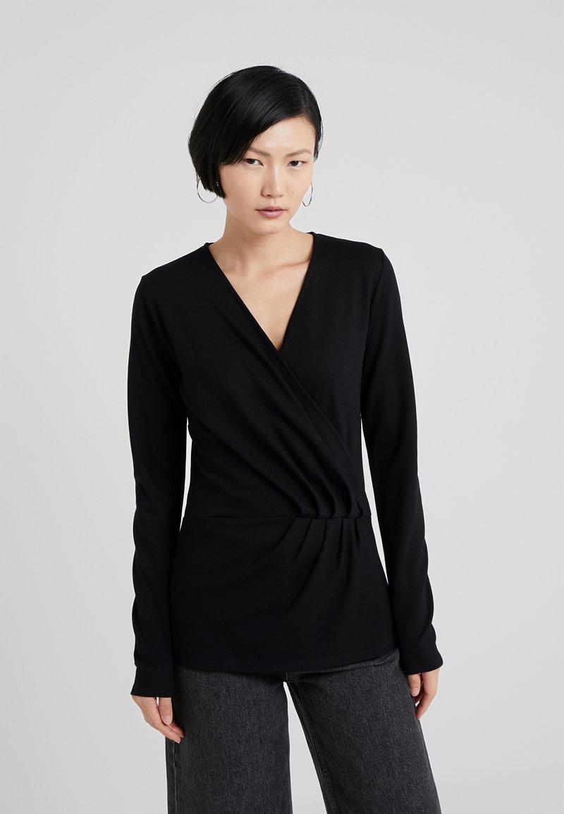 Bruuns Bazaar - TAMI JENNA - Langarmshirt - black