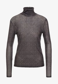 Bruuns Bazaar - EASE ASTRA ROLL NECK - T-shirt à manches longues - black ease artwork - 3