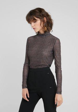 EASE ASTRA ROLL NECK - Long sleeved top - black ease artwork