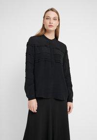 Bruuns Bazaar - LILLI DEENA BLOUSE - Pusero - black - 0
