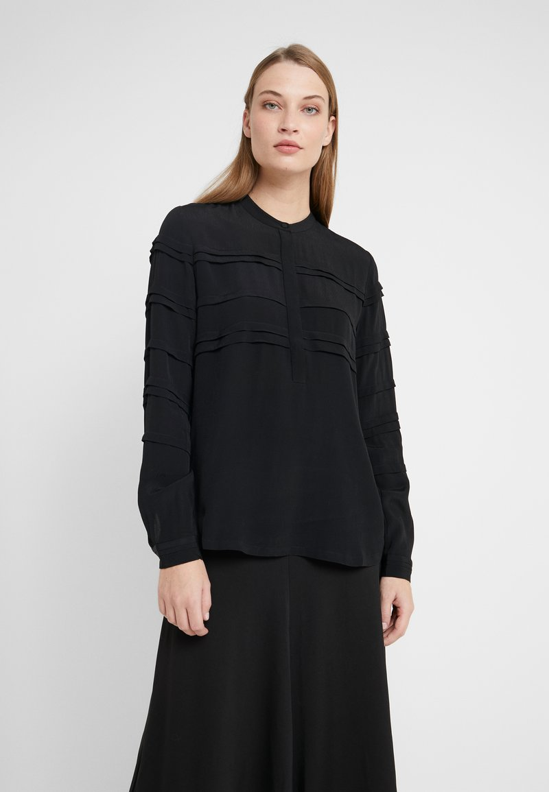Bruuns Bazaar - LILLI DEENA BLOUSE - Pusero - black