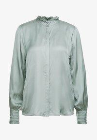 Bruuns Bazaar - BAUME ELIZABETH BLOUSE - Blouse - jade green - 5