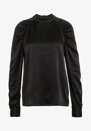 PHILOSOPHY SCULPTURE BLOUSE - Bluzka - black