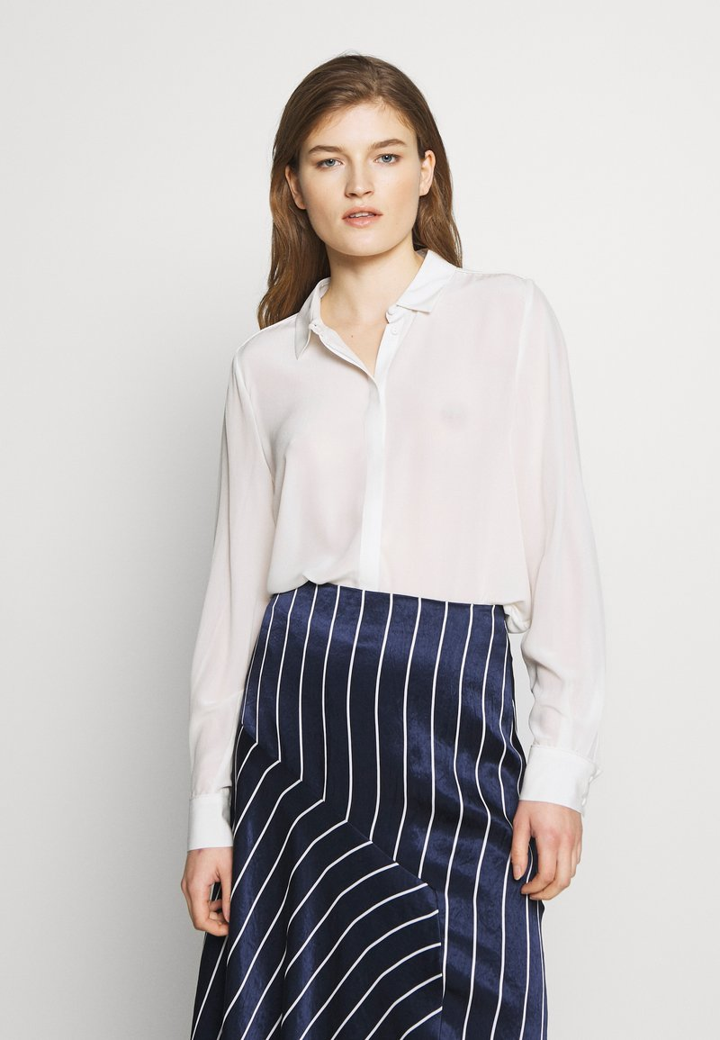 Bruuns Bazaar - LILLIE CORINNE  - Button-down blouse - snow white