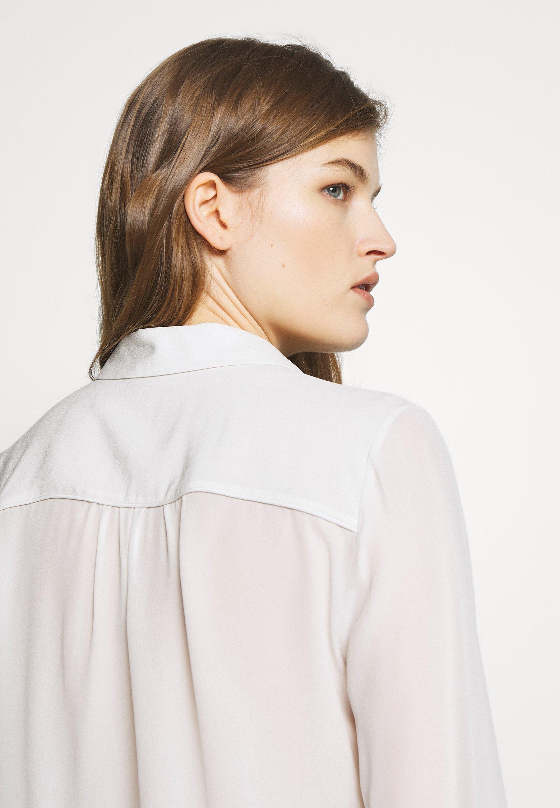 Bruuns Bazaar LILLIE CORINNE - Koszula - snow white