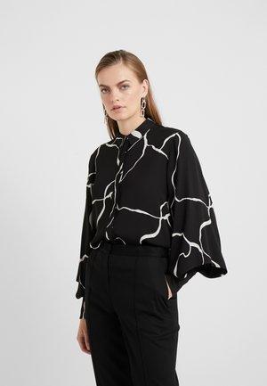 BONNE ABSTRACT SHIRT - Koszula - black