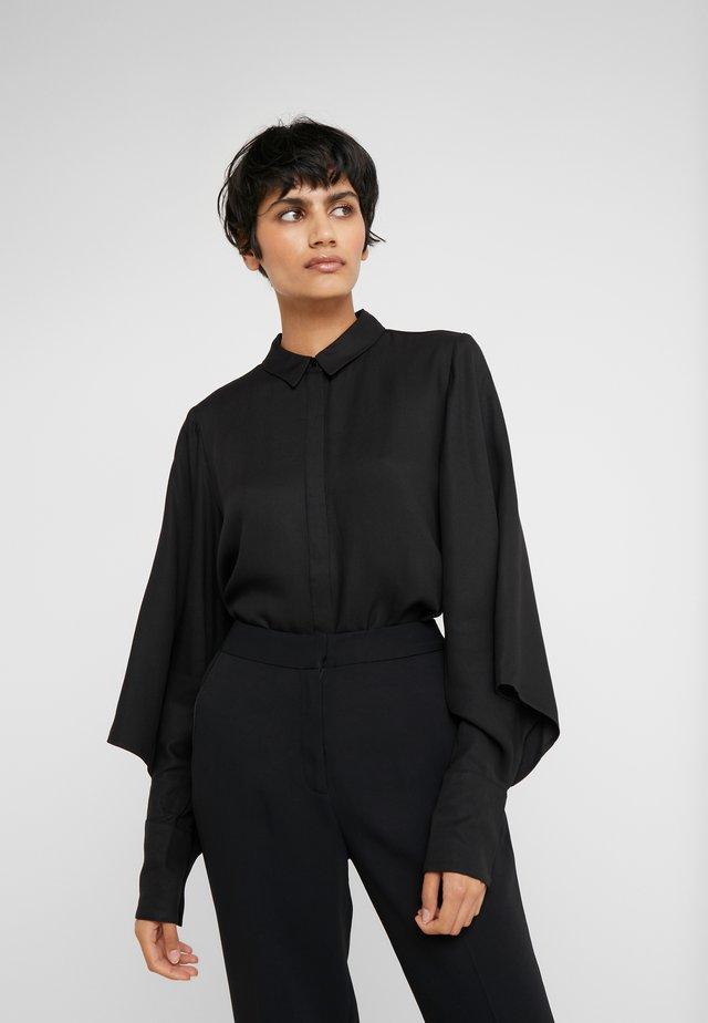 PRALENZA SHIRT - Button-down blouse - black