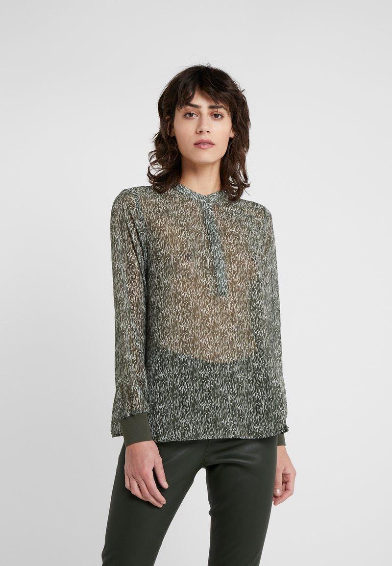 Bruuns Bazaar - SURFACE MILLY  - Bluse - dark green