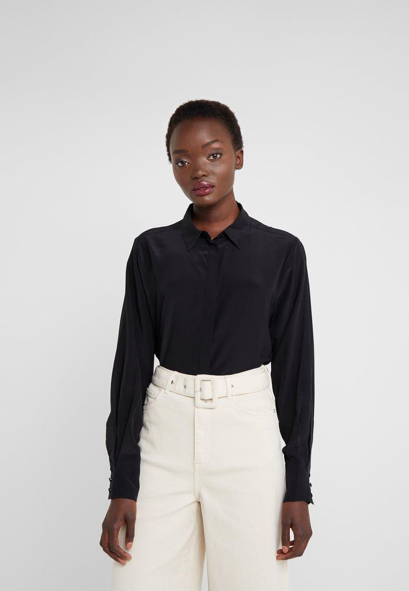 Bruuns Bazaar - ASTA SOLID YVONNE  - Hemdbluse - black