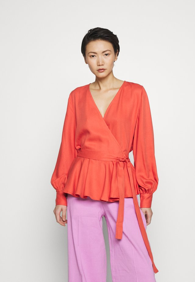 PRALENZA SILVINE BLOUSE - Pusero - poppy red