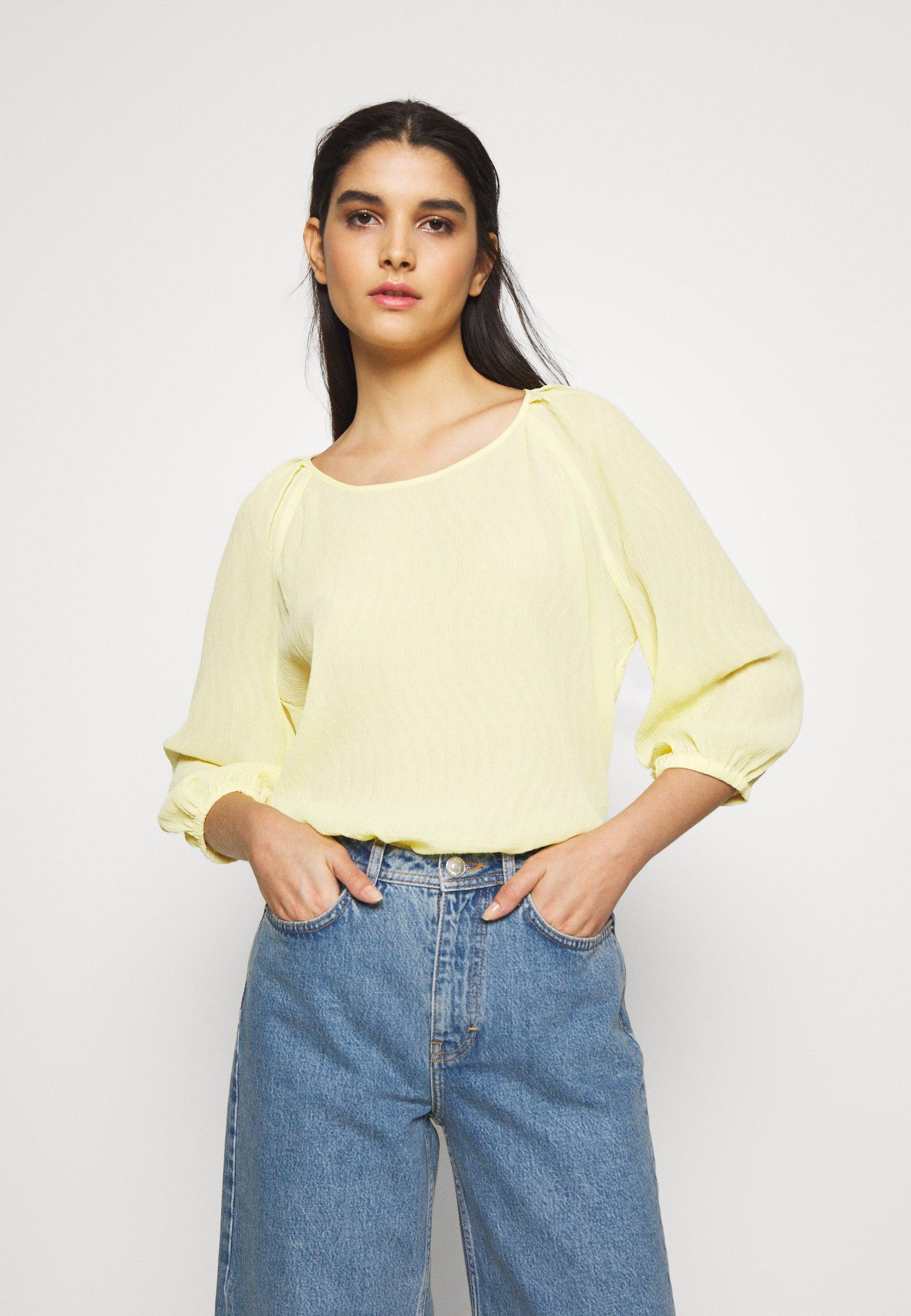 Bruuns Bazaar CLERA DELIA  - Bluser - yellow