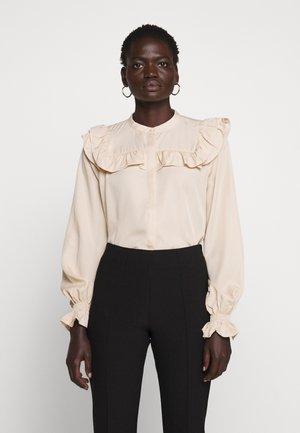 LAERA DOVE - Button-down blouse - sand