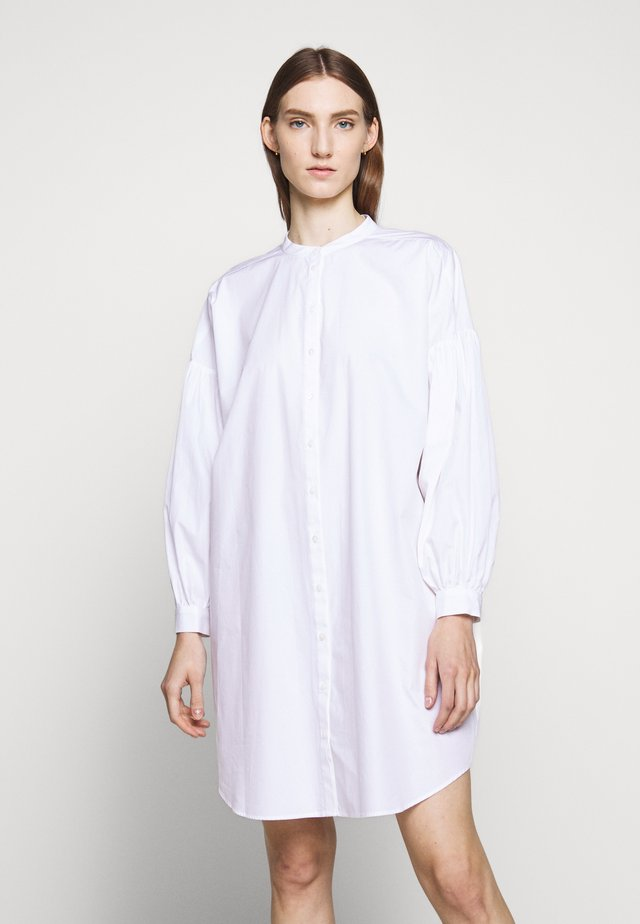PETRIE TUNIC - Button-down blouse - snow white