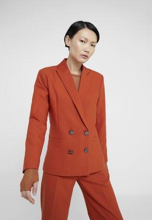 CINDY CAYA - Blazer - brown rust