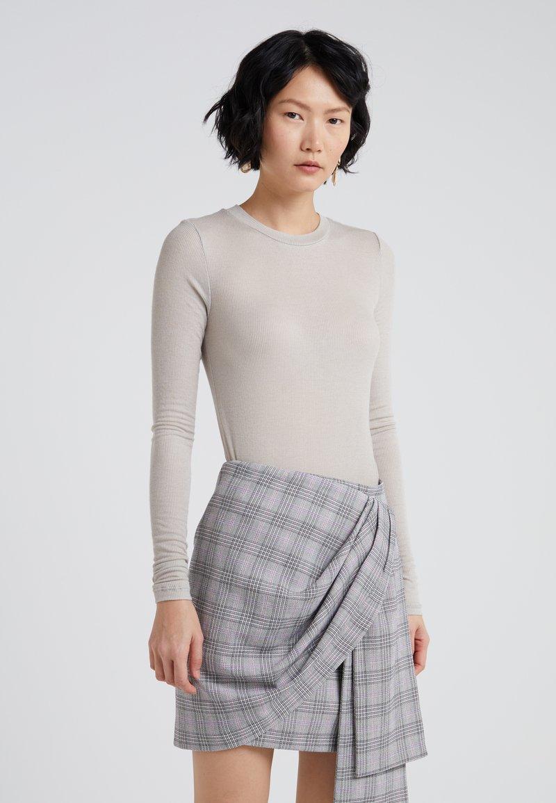 Bruuns Bazaar - ANGELA - Sweter - light grey
