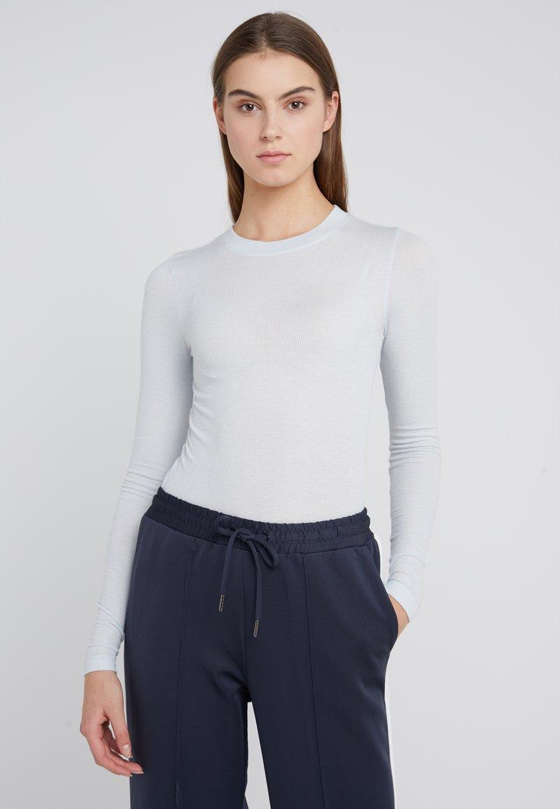 Bruuns Bazaar - ANGELA - Strikpullover /Striktrøjer - heather blue