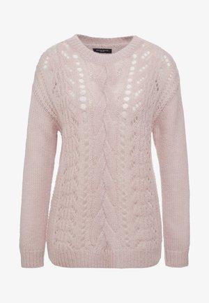 BELLA KASS  - Pullover - creamy rosa