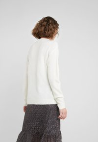 Bruuns Bazaar - HOLLY JOHANNE  - Sweter - snow white - 2