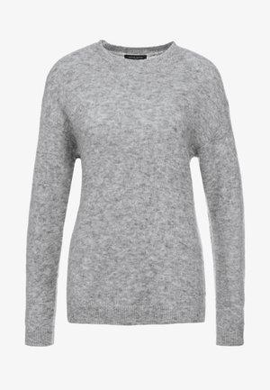 HOLLY JOHANNE  - Stickad tröja - light grey melange