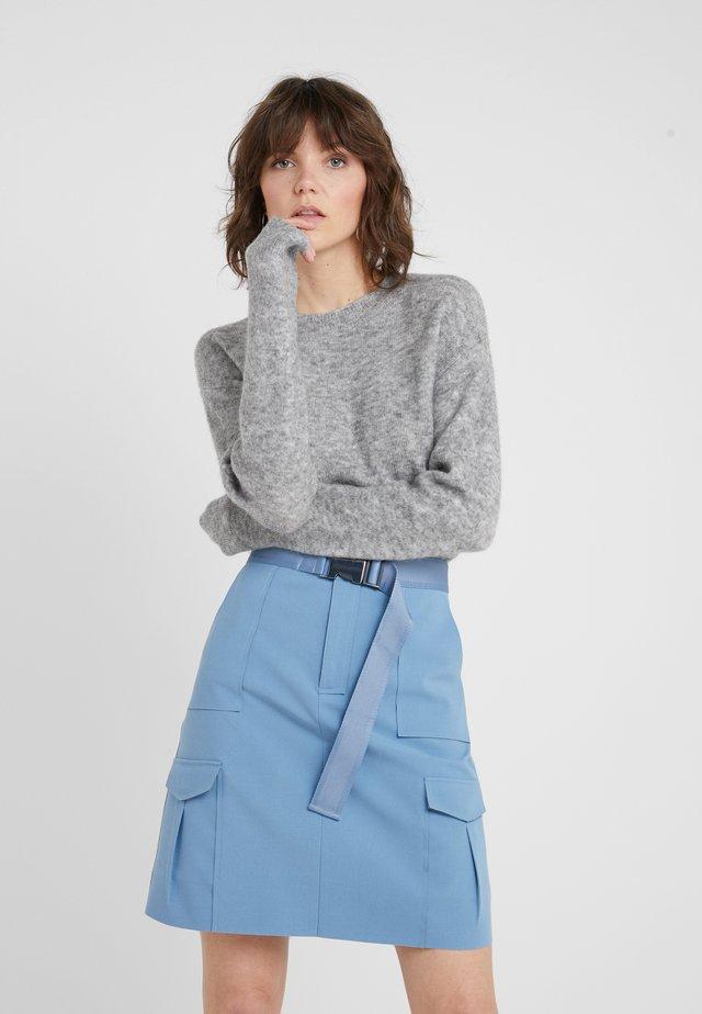HOLLY JOHANNE  - Sweter - light grey melange