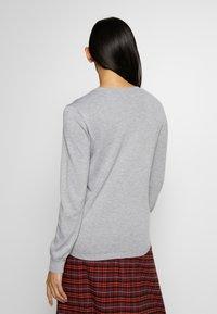 Bruuns Bazaar - KAYLA JOSSE CARDIGAN - Gilet - light grey - 2