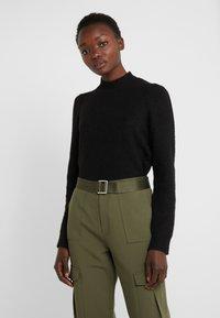 Bruuns Bazaar - PAYA MERRAL KNIT - Sweter - black - 0