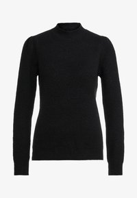 Bruuns Bazaar - PAYA MERRAL KNIT - Sweter - black - 5