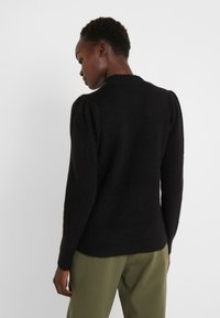 Bruuns Bazaar - PAYA MERRAL KNIT - Sweter - black - 2