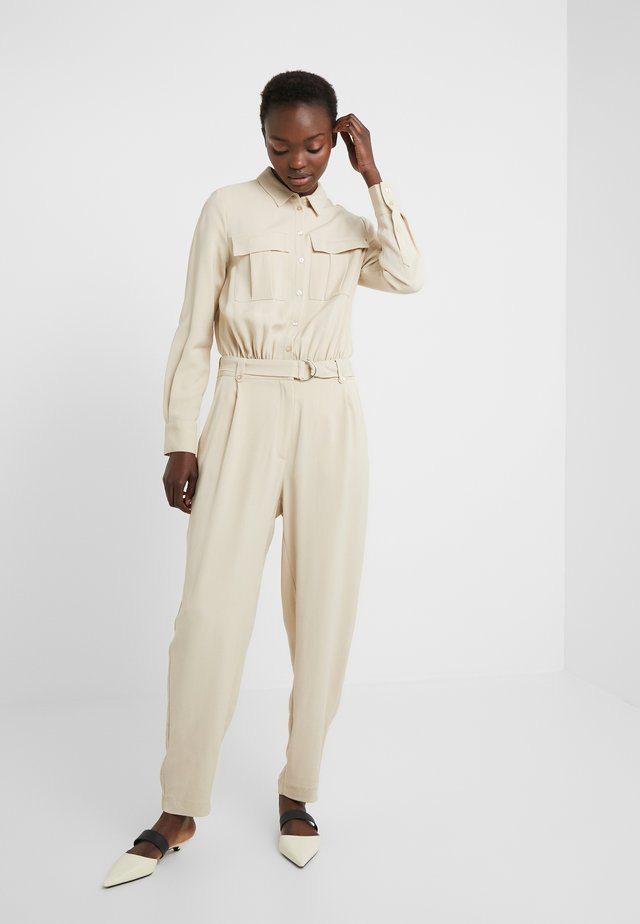 ISOLDE DORTHEA - Tuta jumpsuit - almond beige