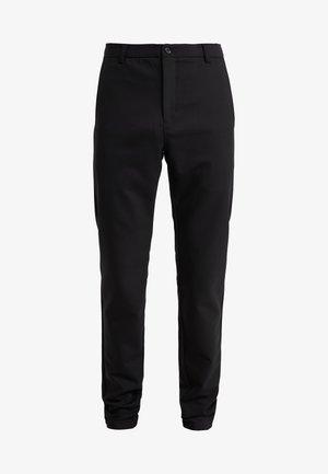 WILL PANT - Pantalon classique - black