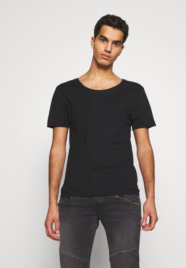 ERIK TEE - Basic T-shirt - black