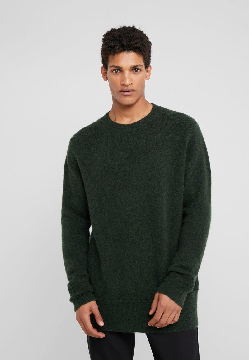 Bruuns Bazaar - CHRIS CREW NECK - Strickpullover - sage green