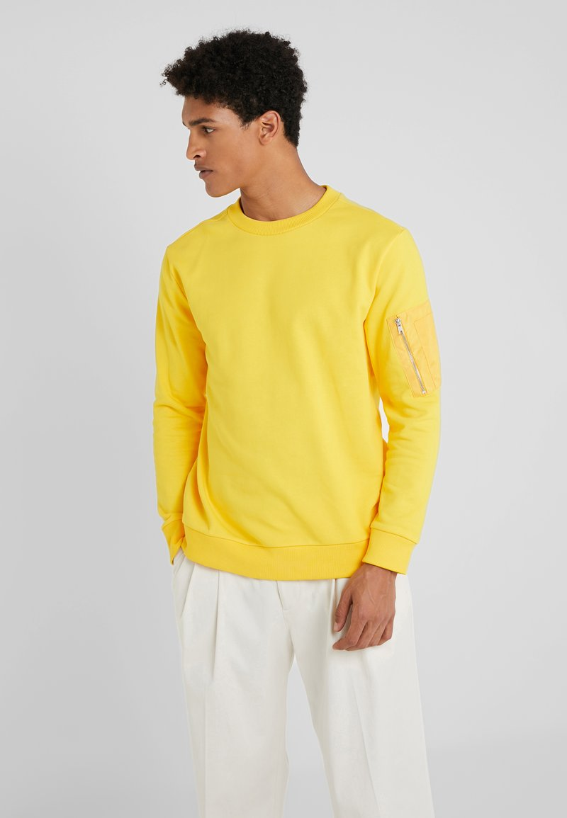 Bruuns Bazaar - BIRK MASH  - Mikina - bright yellow