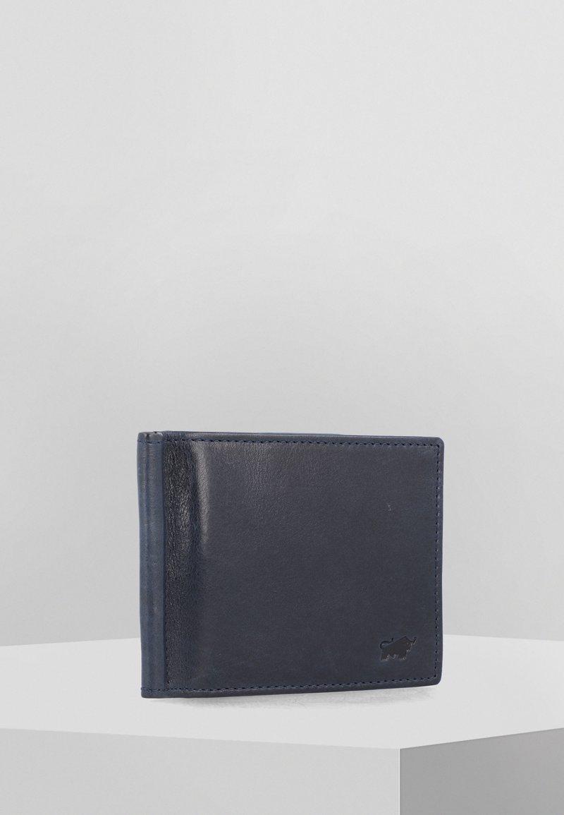Braun Büffel - AREZZO - Wallet - dark blue