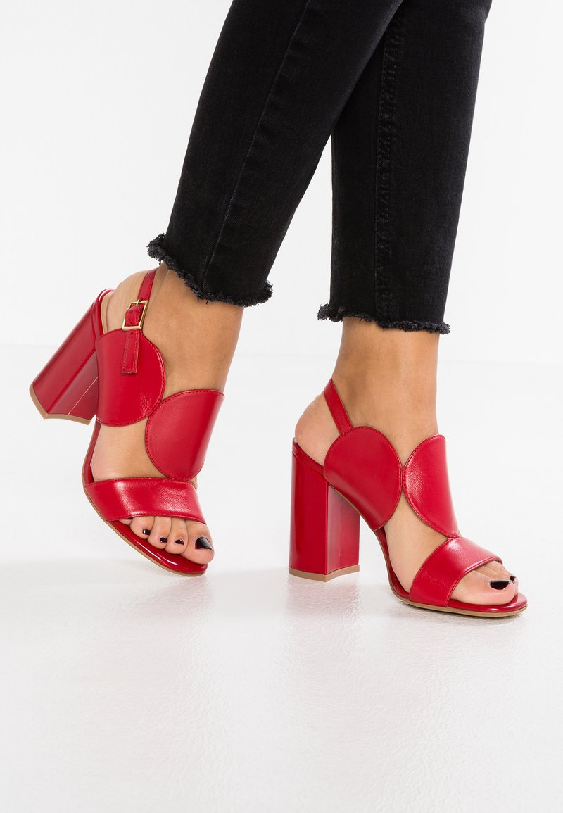 Bruno Premi - High heeled sandals - rosso