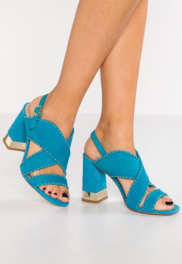 High Heel Sandalette - caribe