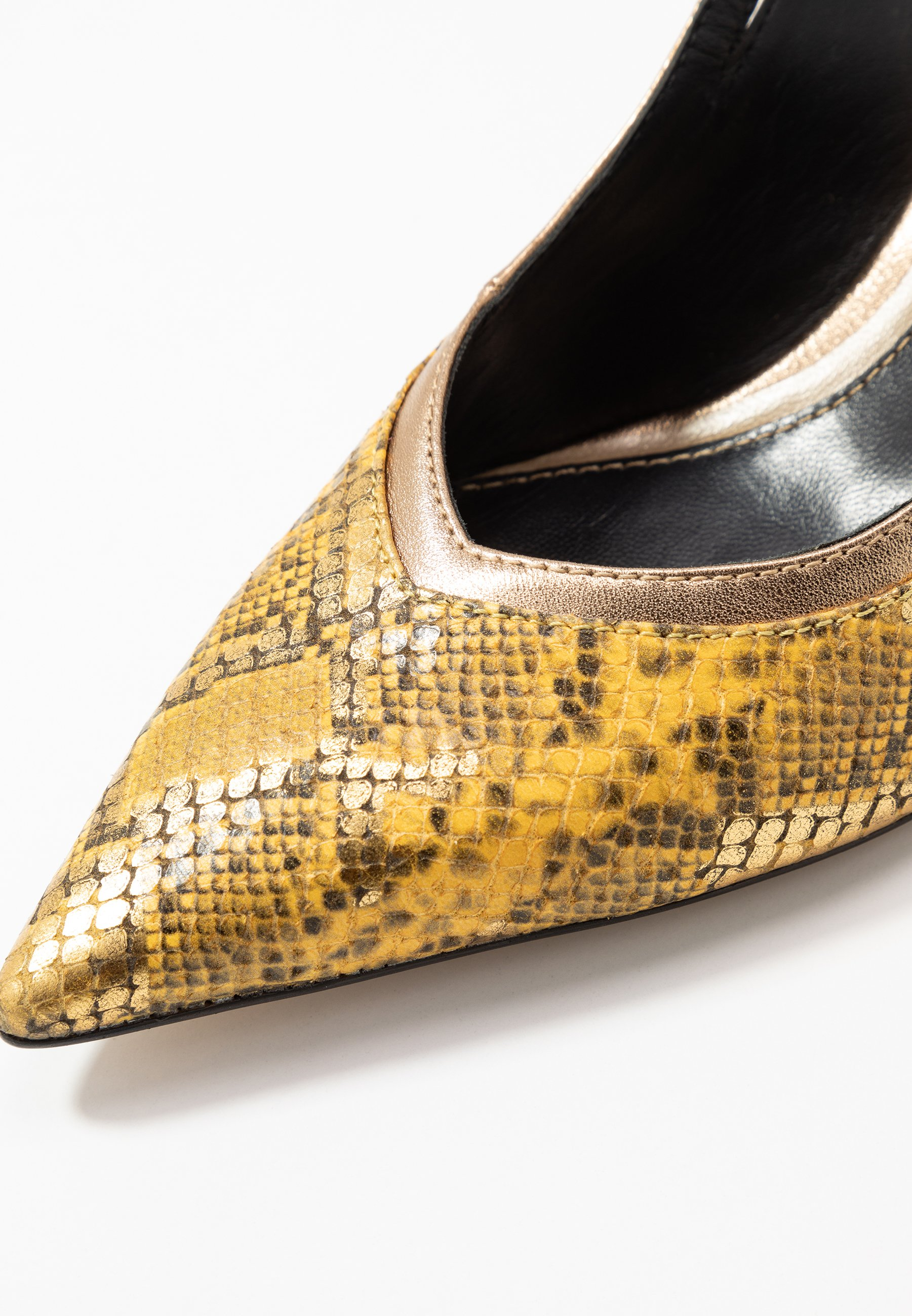 Bruno Premi Pumps - joya/metal oro