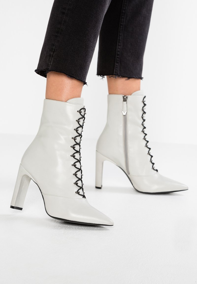 Bruno Premi - High heeled ankle boots - ghiaccio