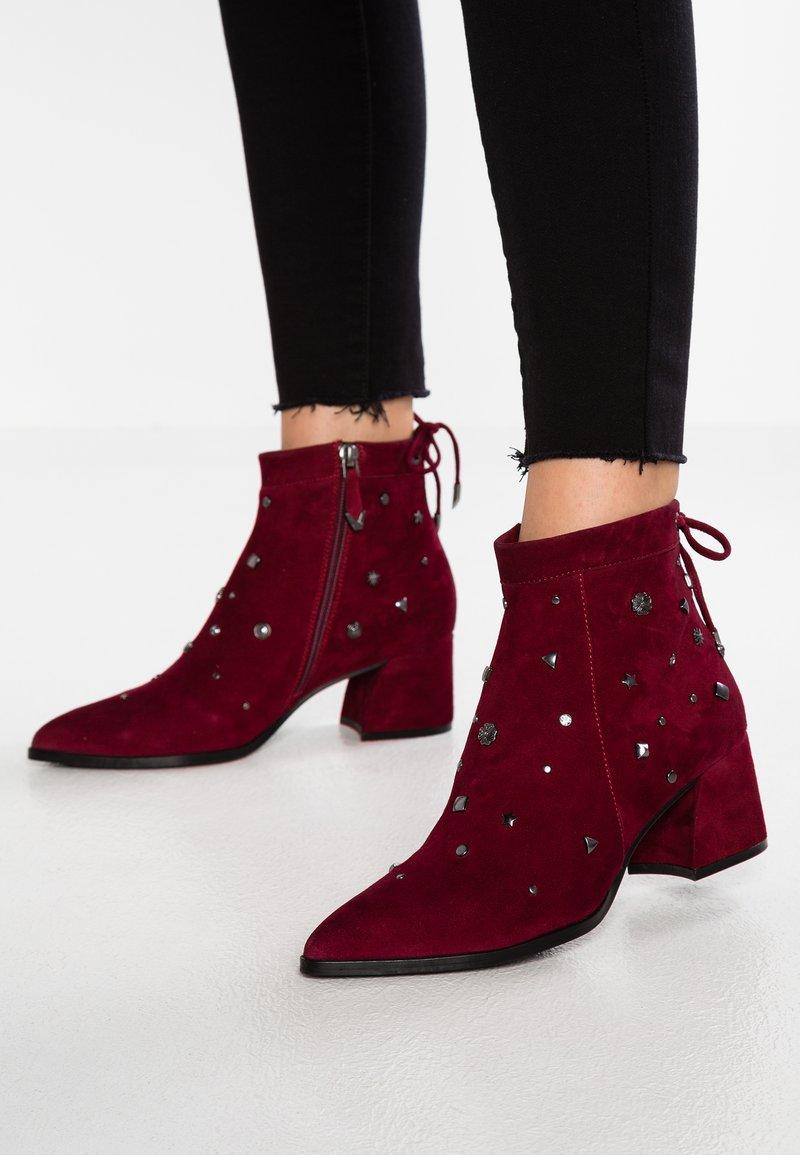 Bruno Premi - Ankle boots - porpora