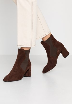 Classic ankle boots - teak