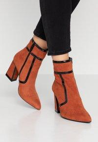 Bruno Premi - High heeled ankle boots - siena - 0