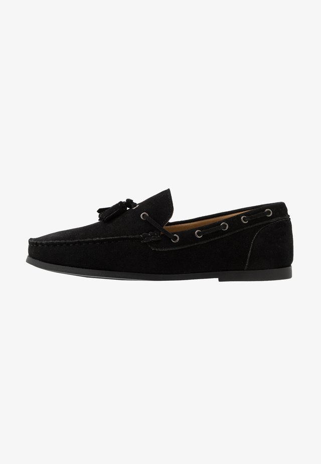 CORBETT - Loaferit/pistokkaat - black